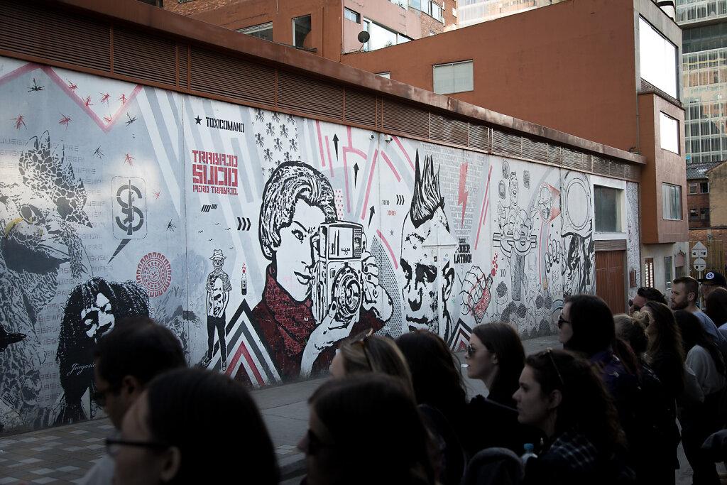 Graffiti Walking Tour I