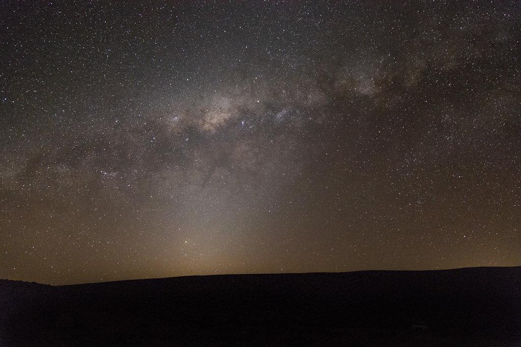 Sternenhimmel über der Atacama-Wüste