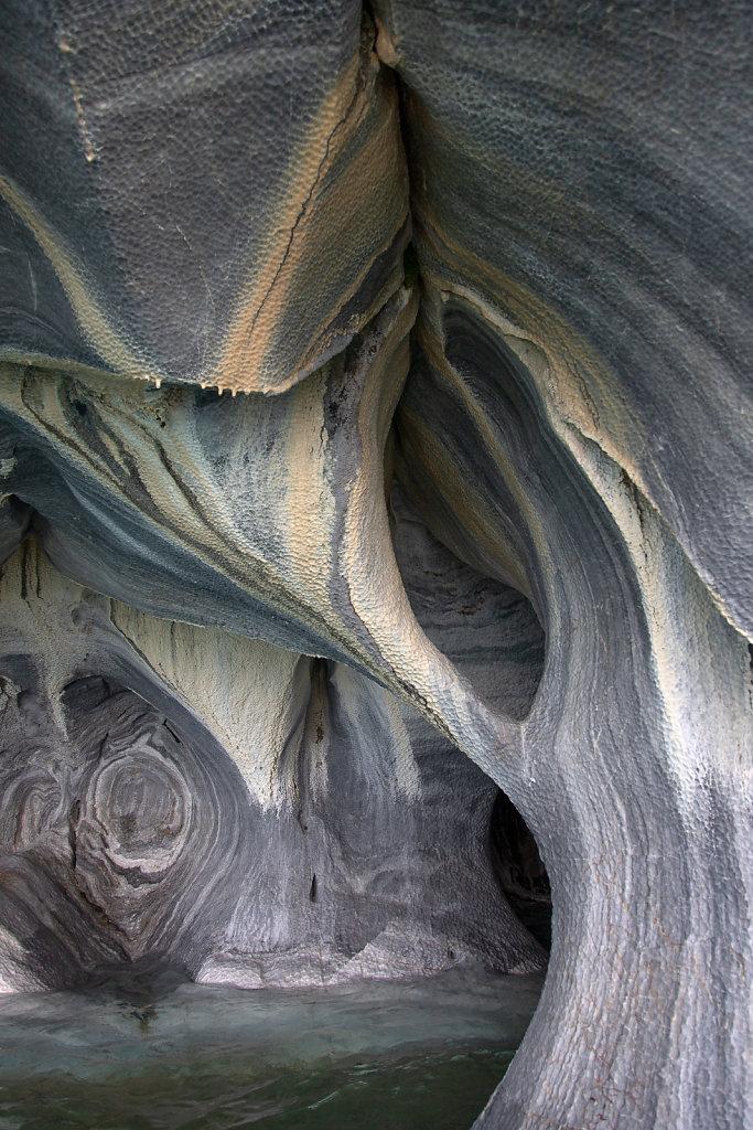 Marmorgrotten im Lago General Carrera
